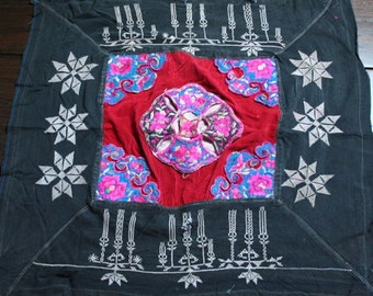 Textiles -  Hmong Baby Carrier/ Hmong / Miao fabric / Hmong embroidery panels - 627