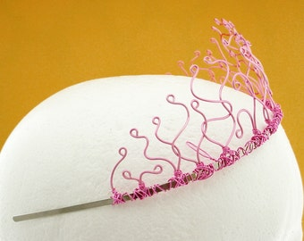 Custom Tiara, Wire Color Choices, Adult or Child Crown, Free Shipping