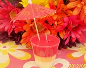 Fruity Cooler Shot Glass Candles