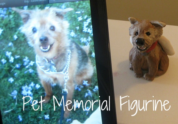 Pet Memorial Figurine