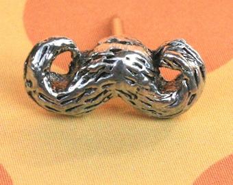 Tie Tack - Mustache Galore