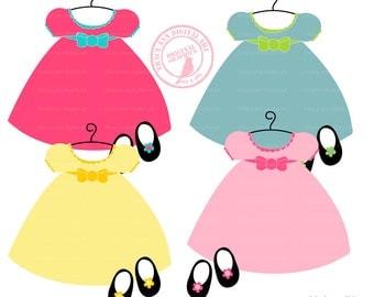 Baby Doll Dress Clip Art