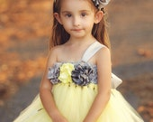 Yellow Dress Wedding Dres...