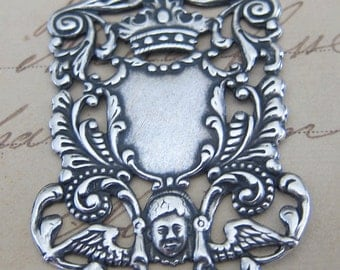 Ornate Silver Finding 2537
