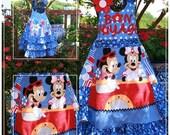 Disney Cruise Minnie Mickey Bon Voyage Custom