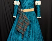 Princess MERIDA Custom Made ADULT Costume