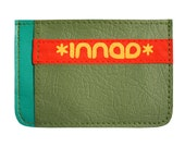 Teal Olive Scarlet Ultra Slim Wallet