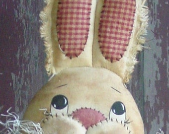 CF250 Hareloom Easter - PDF ePattern Cloth Rabbit Doll