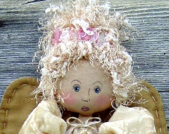 CF200 Starfish Angel - PDF ePattern Cloth Angel Doll