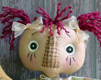 CF236 Good Night Moon - PDF ePattern Cloth Doll Pattern Raggedy
