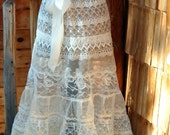 Ivory Lace Petticoat - Women's Skirt : Steampunk Clothing