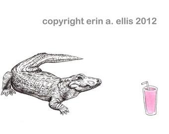 Alligator 8x10 Print