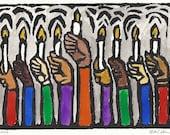 Hanukkah Cards - Set of 12 - PRE-ORDER