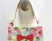 Messenger Bag Yellow Floral Cross Body Bag Purse