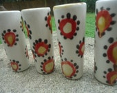 Pop Flower Shot Glasses