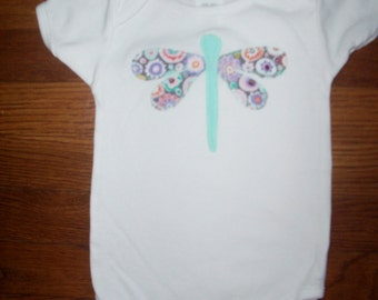 New Summer Dragonfly Baby One-Piece