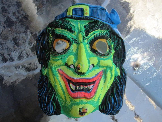 Vintage Halloween Mask witch