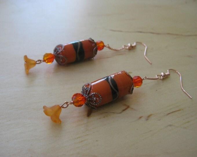 Insouciant Studios Autumn Lantern Earrings