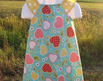 Apple of My Eye Flutter Sleeve Dress Custom Boutique