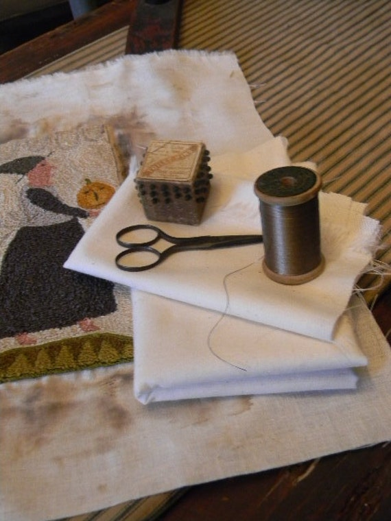 Weavers Cloth for your Punch Needle/Needle Punching Needs - from Notforgotten Farm