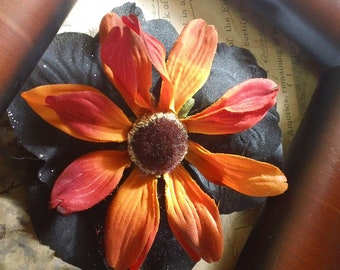 Lorelei- autumn hair flower