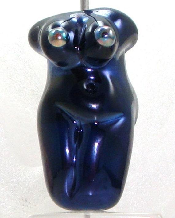 RESERVED for Mimi -- Handmade Lampwork Goddess Glass Bead