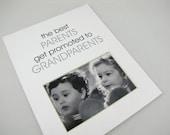 The Best Parents Get Promoted 8 x 10 Designer Photo Mat Design M80