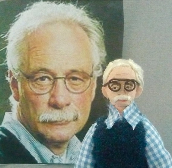 W.G. Sebald Doll Miniature Author and Writer