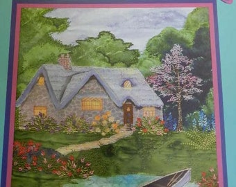 Secluded Serenity by Cindy Losekamp Embroidery Book Sew Artfully Yours