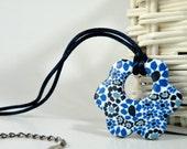 Blue Flower Pendant...
