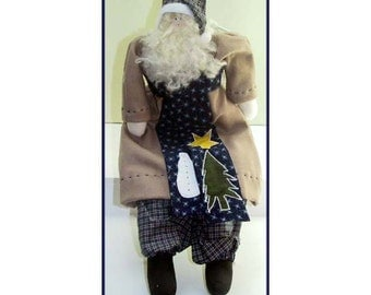 St. Nick of Olde Handmade Country  Doll Decoration