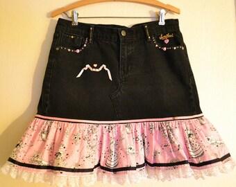 Black Old Navy -the sweetheart- Denim Jeans Skirt