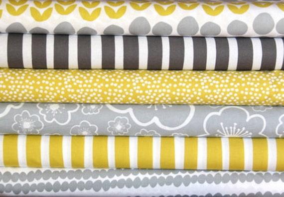 BELLA half yard bundle--6 pieces---3 yards total--Lotta Jansdotter for Windham Fabrics