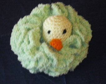 Darling Duckie Bath Sponge for Babies and Toddlers Christmas Stocking Stuffer Birthday Newborn Shower Made to Order