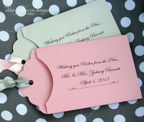 Wedding Favors | Personalized Wedding - Lottery Ticket ...