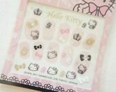 SALE  Stock Hello Kitty Nail Sticker Sheet / Princess Pink