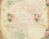 INSTANT DOWNLOAD  -Antique Altered Notebook Paper  2-  Digital Download -  Image- Digital - Images - Original
