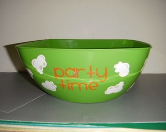 Popcorn bowl for all of your party needs