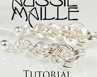Chainmaille Tutorial - Graduating Double Spiral Earrings