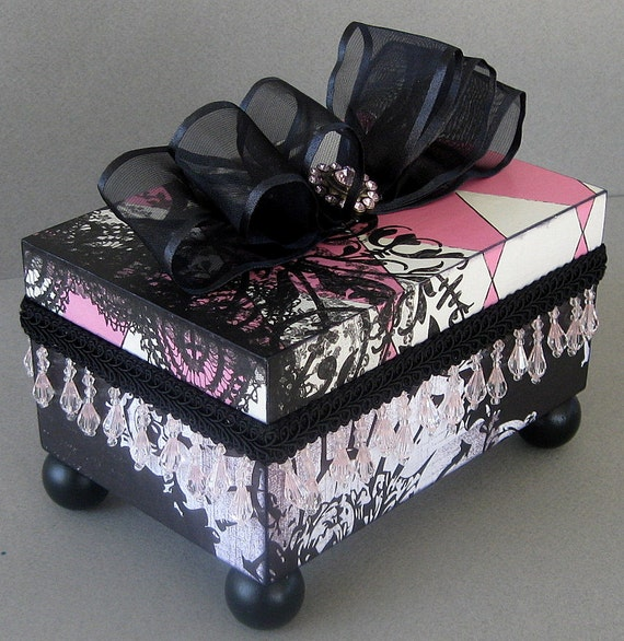 Gothic Harlequin Keepsake Box