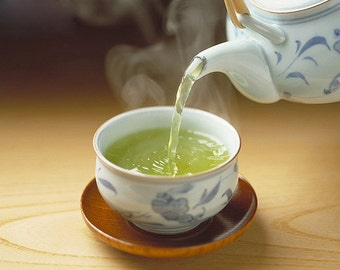 Tea Teabags 50 Peach / Pomegranate green Hand Blended tea in teabags