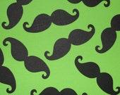 50 Mustache bash Paper punch Die cut Party confetti photo Little Man