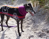 Greyhound/Other Large Dog Blanket Wool Coat - to be custom-sized, custom-made