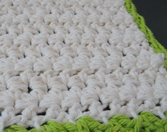 PATTERN  in PDF -- crocheted dishcloth, dish cloth -- Dishcloth 79