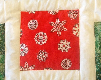50% OFF Quilted Christmas Table Runner - Stepping Stones Was 80.00