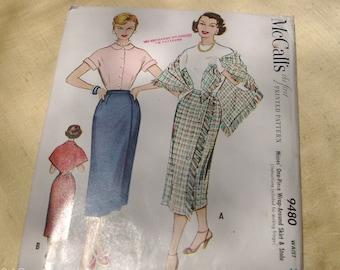 vintage shirt and shawl pattern