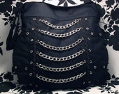 Custom Heavy Metal Gothic Purse - EXECUTIONER - Warning Label Creations