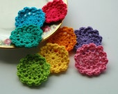 Crochet Flower Motifs - mini doilies