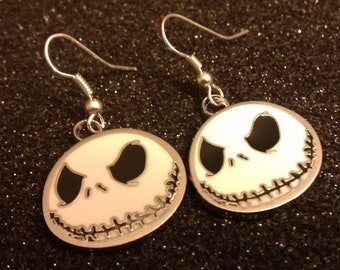 Jack, NBC, Halloween, Jack earrings, goth, punk, ready to ship