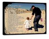 Custom Family Personalized Photo Gift on Canvas Words Text Quote Sayings 24X24